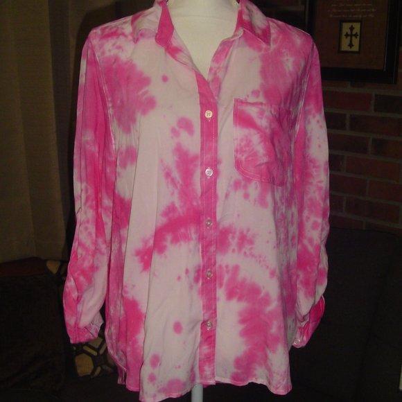 Pink velvet tie-down